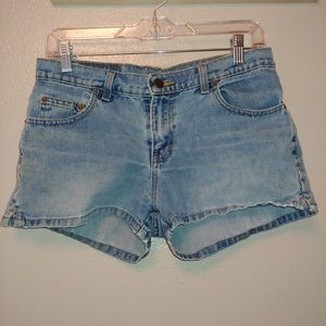 Vintage Retro Jordache Denim Jean Shorts 7/8
